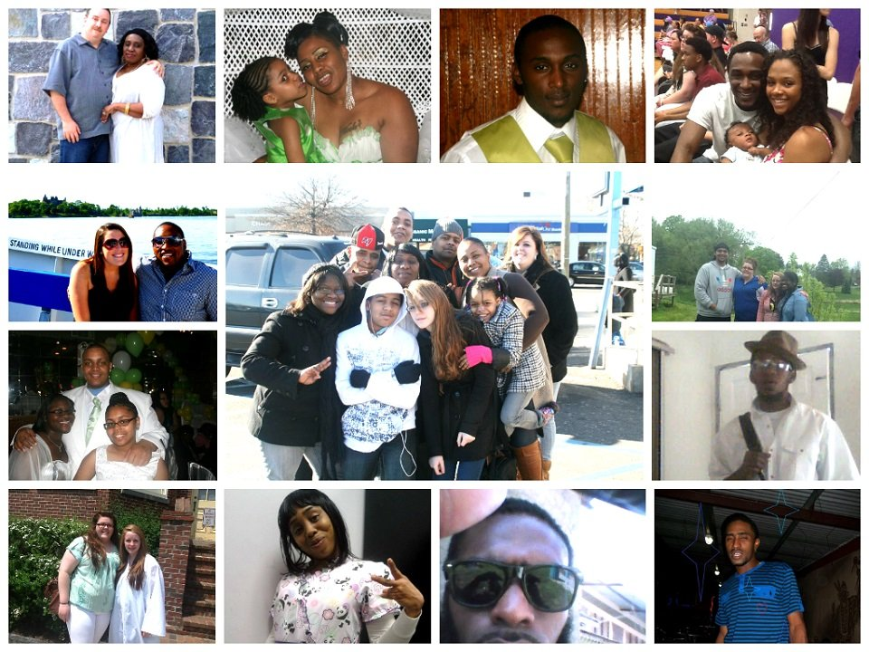 My Extended Family Collage