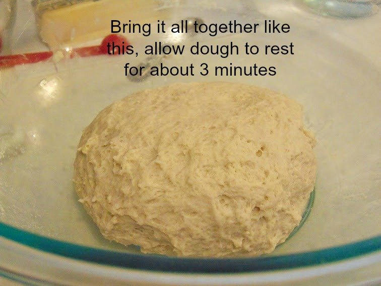 rough dough for making trinidad style fry bake