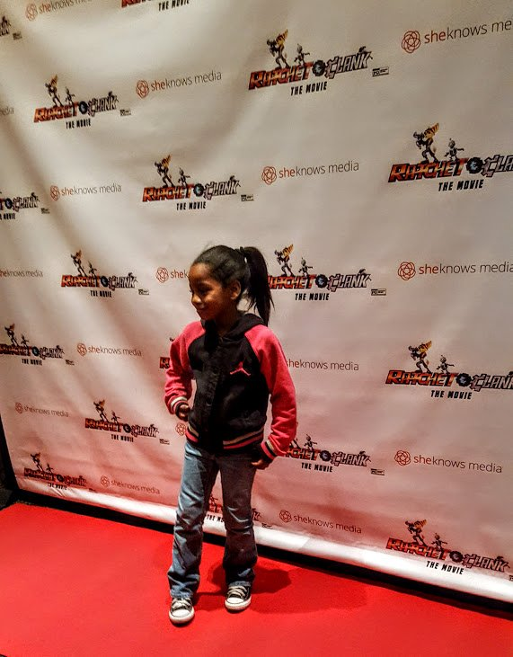 cookie on the red carpet