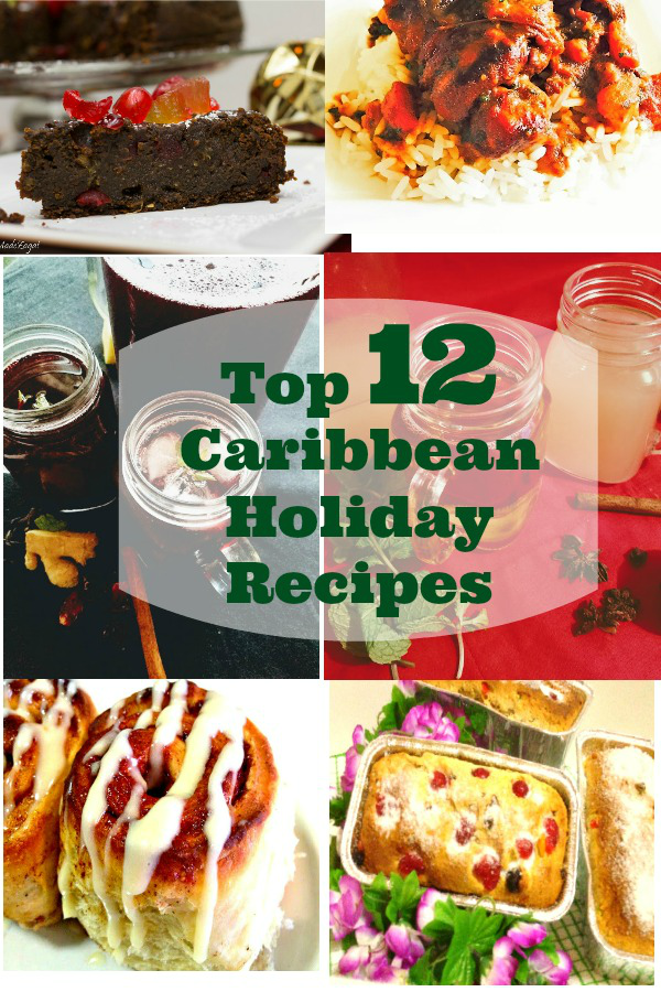 Jamaican Christmas Ham.Top 12 Caribbean Holiday Recipes