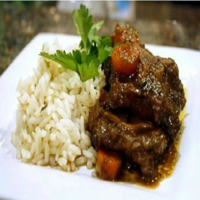 Trinidadian Brown Stew Oxtail