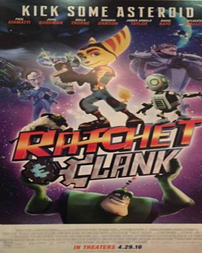 Family Fun at Ratchet & Clank Movie Premiere