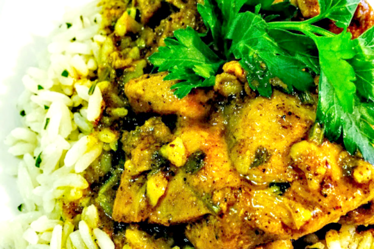 The Most Amazing Caribbean Curry Chicken