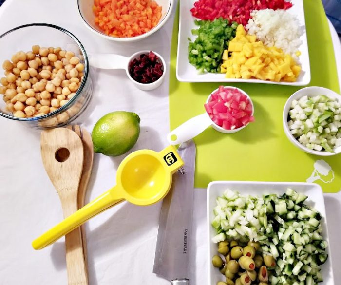 The Perfect CousCous Salad with Chick Peas