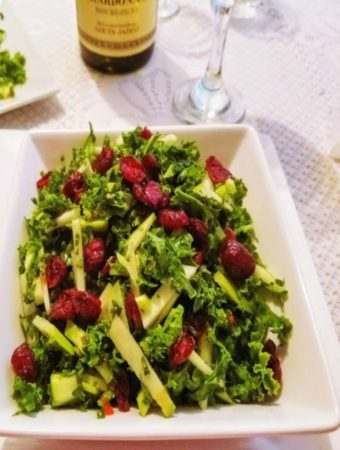 apple salad with kale