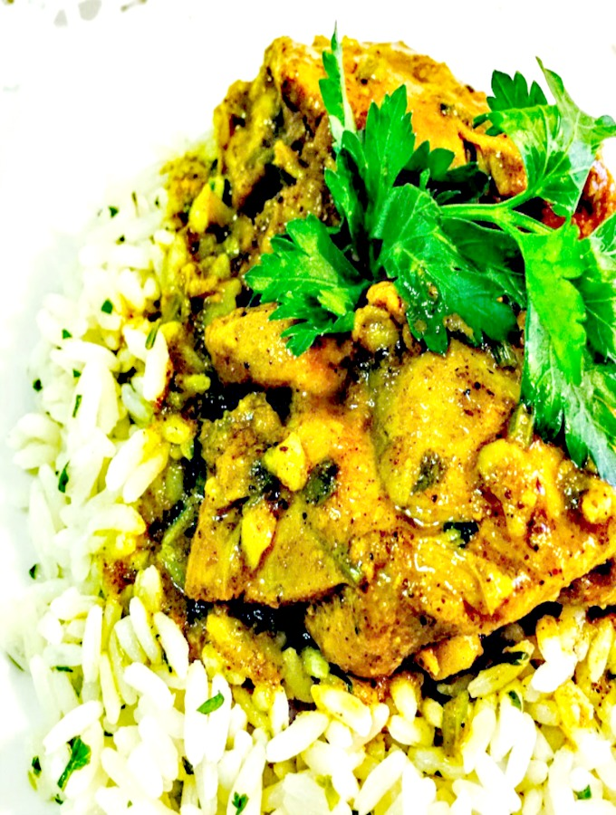 curry-masala-chicken-and-cilantro-lime-rice