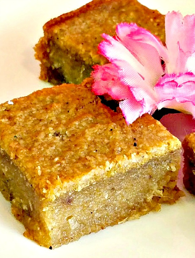 The Perfect Cassava Pone Moist And Delicious With Sugar And Spices